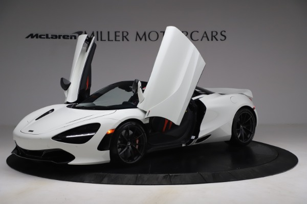 New 2021 McLaren 720S Spider for sale $366,670 at Pagani of Greenwich in Greenwich CT 06830 12
