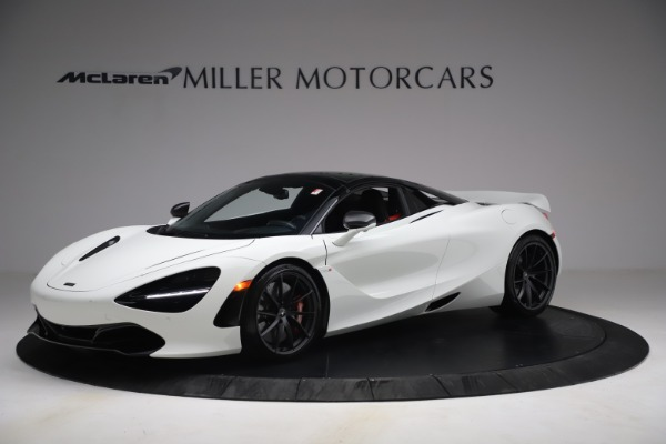 New 2021 McLaren 720S Spider for sale $366,670 at Pagani of Greenwich in Greenwich CT 06830 13