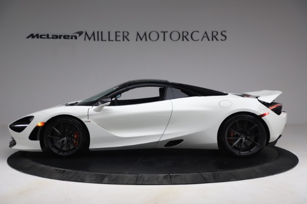 New 2021 McLaren 720S Spider for sale $366,670 at Pagani of Greenwich in Greenwich CT 06830 14