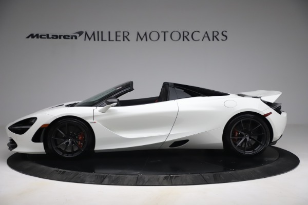 New 2021 McLaren 720S Spider for sale $366,670 at Pagani of Greenwich in Greenwich CT 06830 2