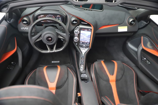 New 2021 McLaren 720S Spider for sale $366,670 at Pagani of Greenwich in Greenwich CT 06830 25