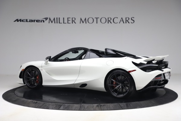 New 2021 McLaren 720S Spider for sale $366,670 at Pagani of Greenwich in Greenwich CT 06830 3