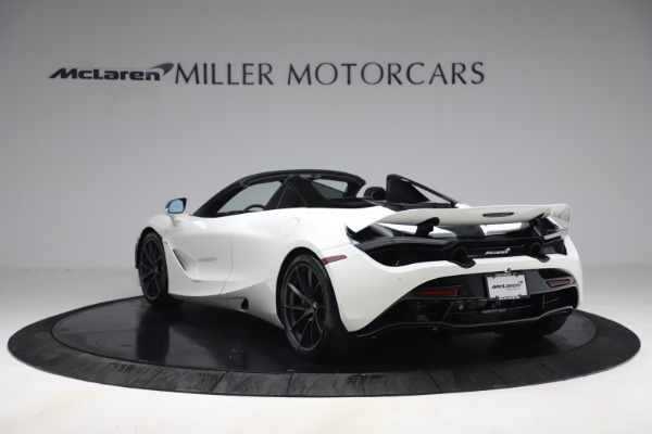 New 2021 McLaren 720S Spider for sale $366,670 at Pagani of Greenwich in Greenwich CT 06830 4