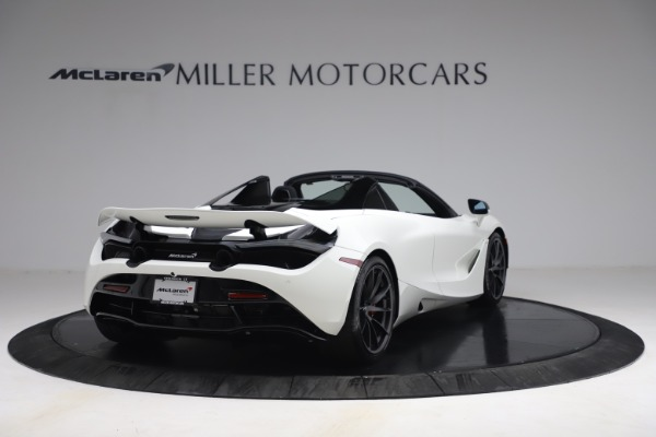 New 2021 McLaren 720S Spider for sale $366,670 at Pagani of Greenwich in Greenwich CT 06830 6
