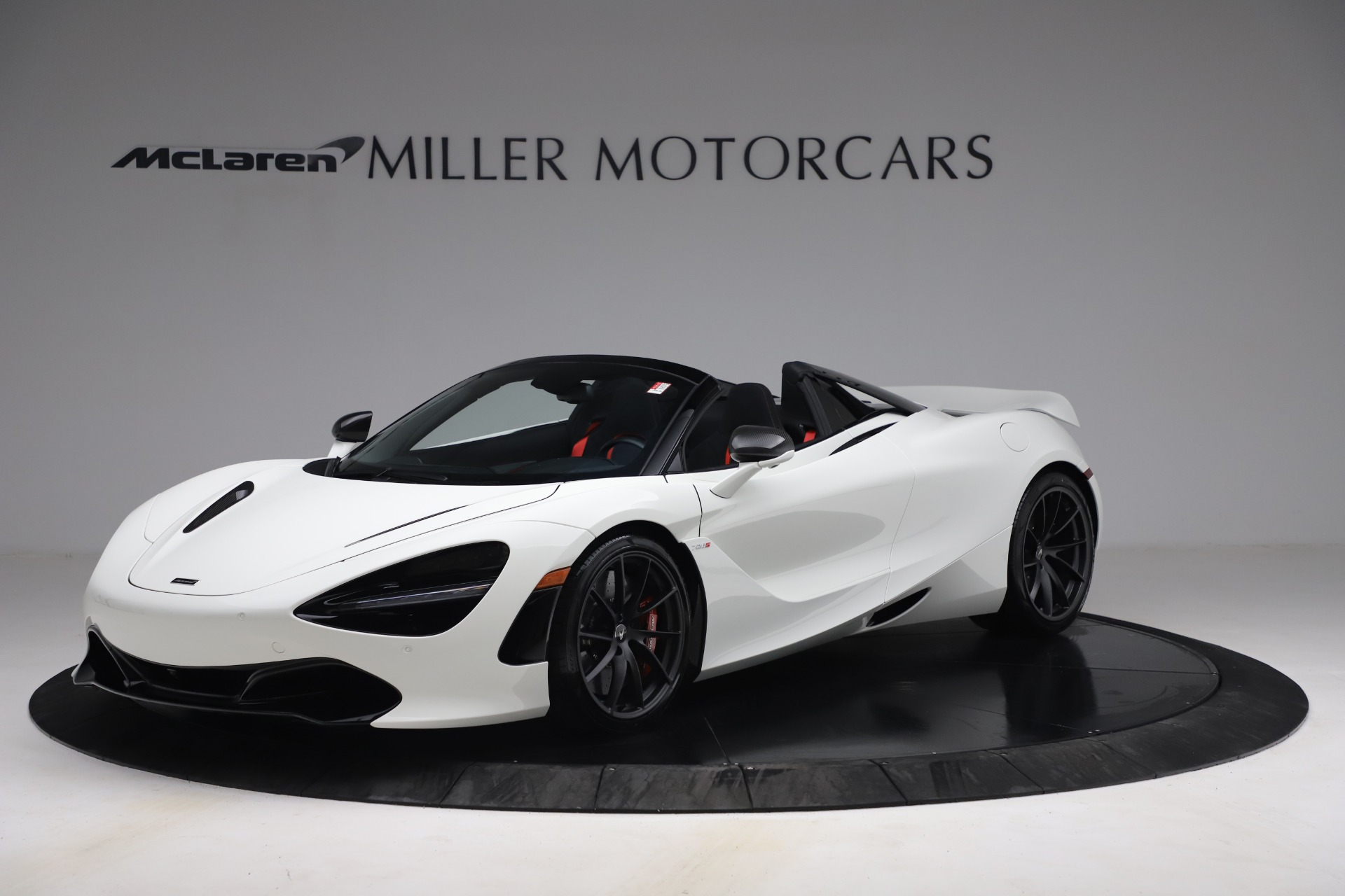 New 2021 McLaren 720S Spider for sale $366,670 at Pagani of Greenwich in Greenwich CT 06830 1