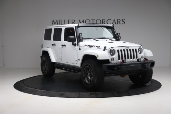 Used 2015 Jeep Wrangler Unlimited Rubicon Hard Rock for sale $39,900 at Pagani of Greenwich in Greenwich CT 06830 11