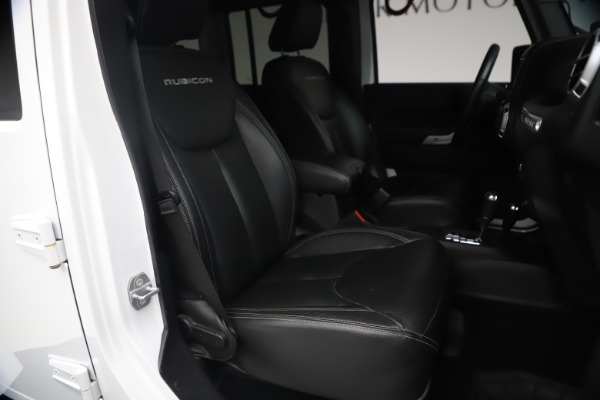 Used 2015 Jeep Wrangler Unlimited Rubicon Hard Rock for sale $39,900 at Pagani of Greenwich in Greenwich CT 06830 19