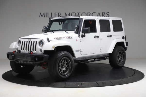 Used 2015 Jeep Wrangler Unlimited Rubicon Hard Rock for sale $39,900 at Pagani of Greenwich in Greenwich CT 06830 2