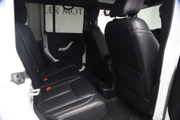 Used 2015 Jeep Wrangler Unlimited Rubicon Hard Rock for sale $39,900 at Pagani of Greenwich in Greenwich CT 06830 21