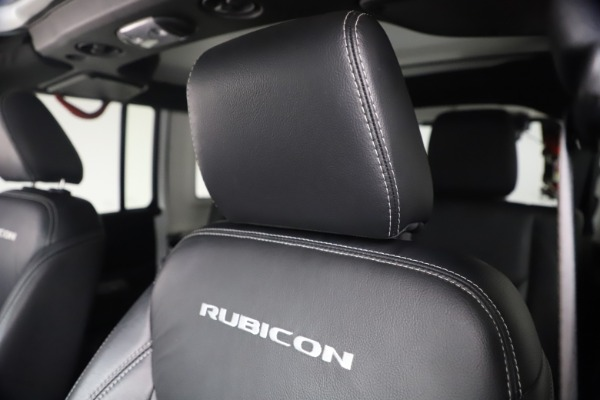 Used 2015 Jeep Wrangler Unlimited Rubicon Hard Rock for sale $39,900 at Pagani of Greenwich in Greenwich CT 06830 26