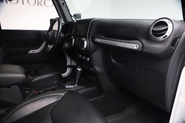 Used 2015 Jeep Wrangler Unlimited Rubicon Hard Rock for sale $39,900 at Pagani of Greenwich in Greenwich CT 06830 27