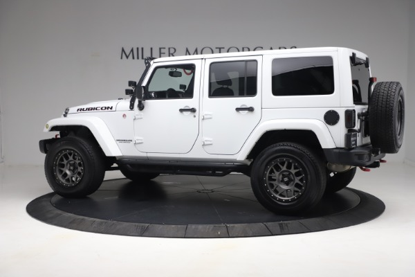 Used 2015 Jeep Wrangler Unlimited Rubicon Hard Rock for sale $39,900 at Pagani of Greenwich in Greenwich CT 06830 4