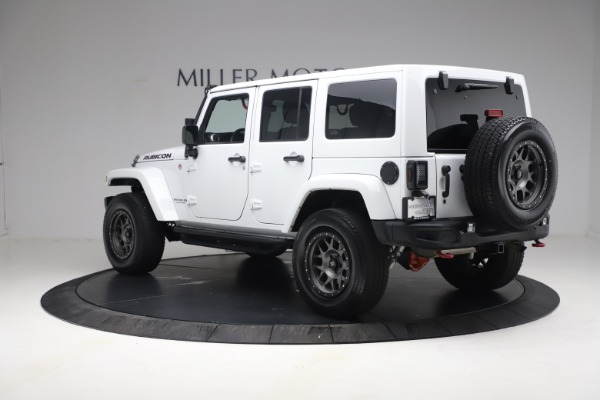Used 2015 Jeep Wrangler Unlimited Rubicon Hard Rock for sale $39,900 at Pagani of Greenwich in Greenwich CT 06830 5