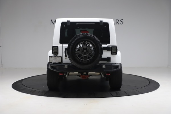 Used 2015 Jeep Wrangler Unlimited Rubicon Hard Rock for sale $39,900 at Pagani of Greenwich in Greenwich CT 06830 6