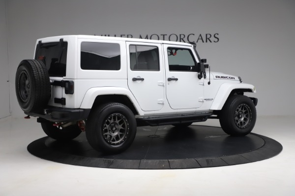 Used 2015 Jeep Wrangler Unlimited Rubicon Hard Rock for sale $39,900 at Pagani of Greenwich in Greenwich CT 06830 8