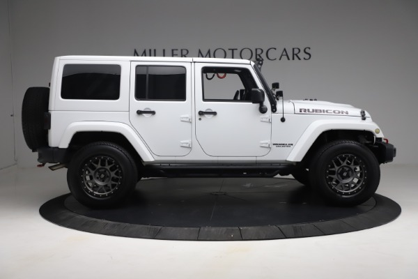Used 2015 Jeep Wrangler Unlimited Rubicon Hard Rock for sale $39,900 at Pagani of Greenwich in Greenwich CT 06830 9