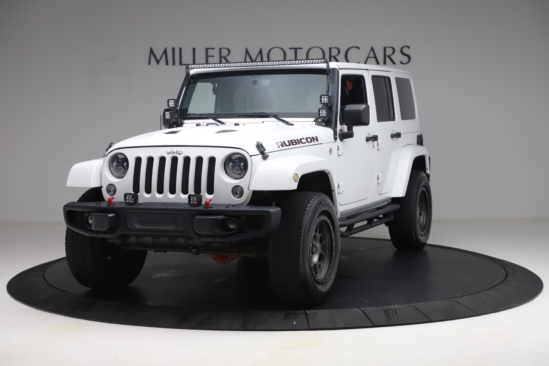Used 2015 Jeep Wrangler Unlimited Rubicon Hard Rock for sale $39,900 at Pagani of Greenwich in Greenwich CT 06830 1