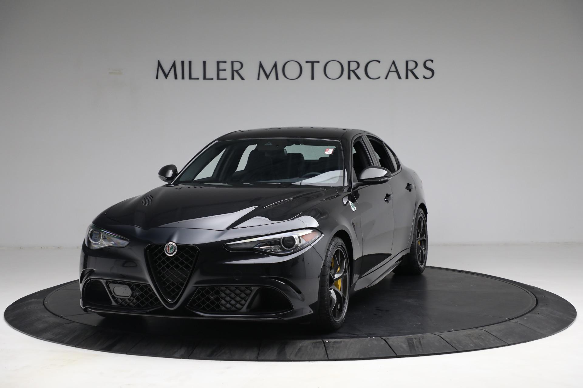 New 2021 Alfa Romeo Giulia Quadrifoglio for sale $81,505 at Pagani of Greenwich in Greenwich CT 06830 1