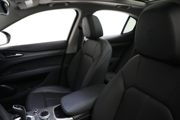 New 2021 Alfa Romeo Stelvio Ti Q4 for sale Sold at Pagani of Greenwich in Greenwich CT 06830 15