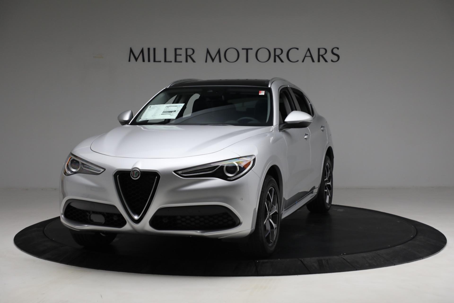 New 2021 Alfa Romeo Stelvio Ti Q4 for sale Sold at Pagani of Greenwich in Greenwich CT 06830 1