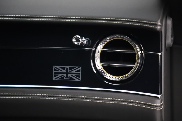 Used 2020 Bentley Flying Spur W12 First Edition for sale Sold at Pagani of Greenwich in Greenwich CT 06830 24
