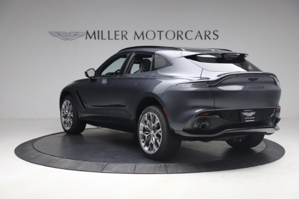 New 2021 Aston Martin DBX for sale $208,786 at Pagani of Greenwich in Greenwich CT 06830 4