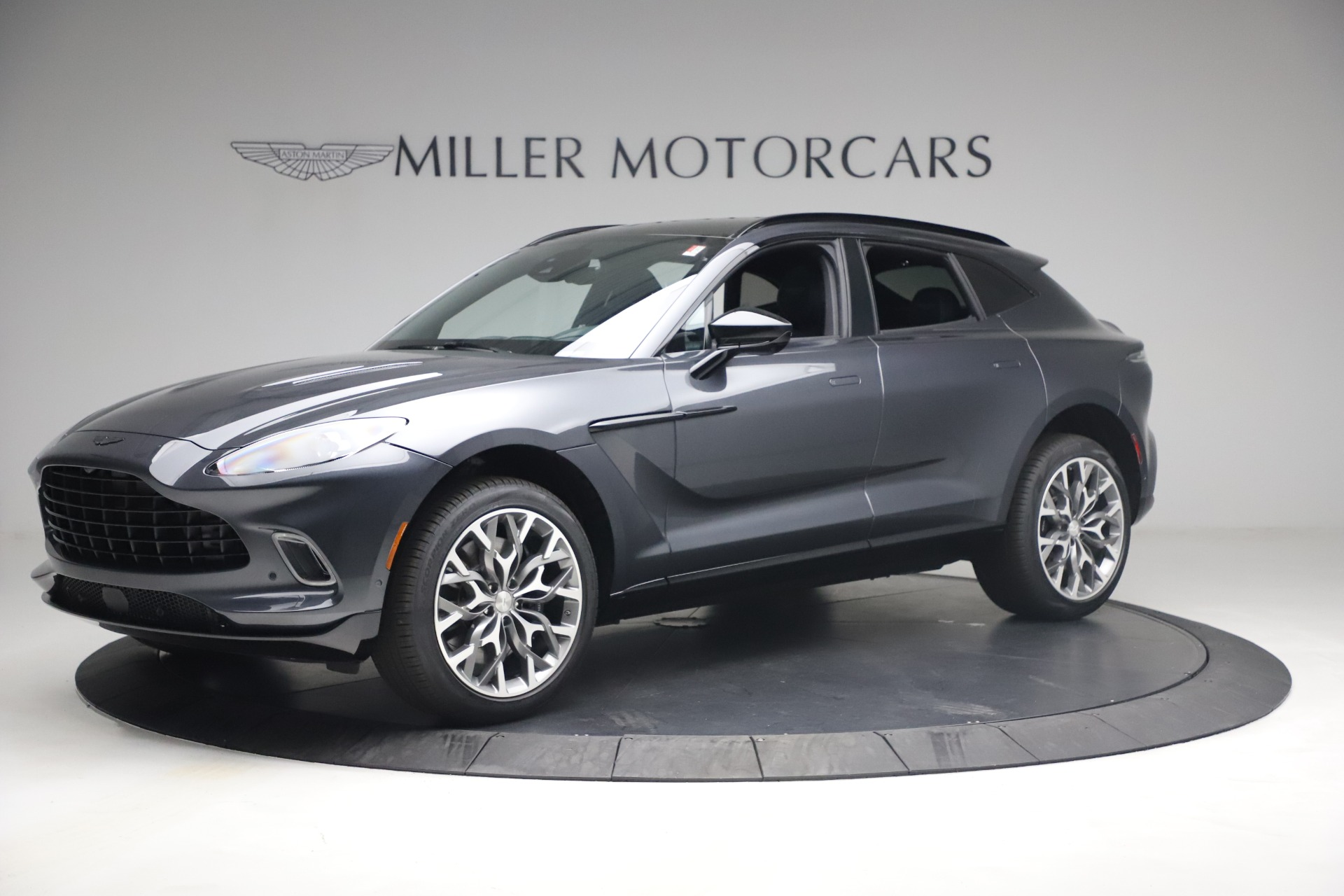 New 2021 Aston Martin DBX for sale $208,786 at Pagani of Greenwich in Greenwich CT 06830 1