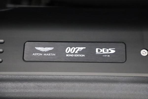 New 2021 Aston Martin DBS Superleggera 007 for sale $391,211 at Pagani of Greenwich in Greenwich CT 06830 19
