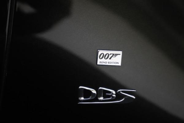 New 2021 Aston Martin DBS Superleggera 007 for sale $391,211 at Pagani of Greenwich in Greenwich CT 06830 26