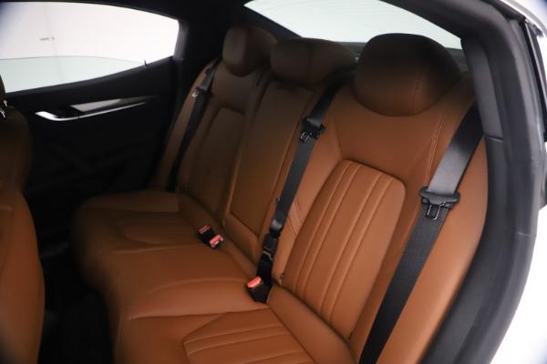 New 2021 Maserati Ghibli SQ4 for sale $85,804 at Pagani of Greenwich in Greenwich CT 06830 21