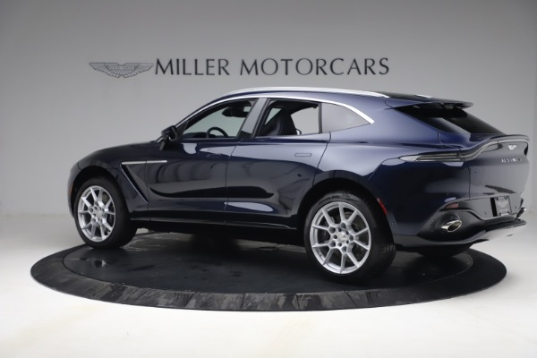 New 2021 Aston Martin DBX for sale $195,786 at Pagani of Greenwich in Greenwich CT 06830 3
