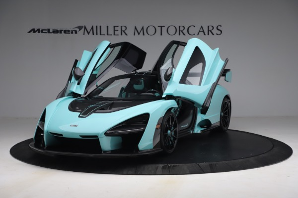 Used 2019 McLaren Senna for sale Sold at Pagani of Greenwich in Greenwich CT 06830 14