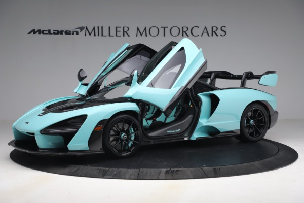 Used 2019 McLaren Senna for sale Sold at Pagani of Greenwich in Greenwich CT 06830 15