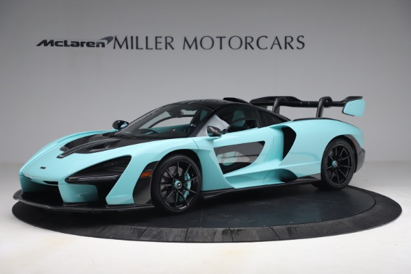 Used 2019 McLaren Senna for sale Sold at Pagani of Greenwich in Greenwich CT 06830 2