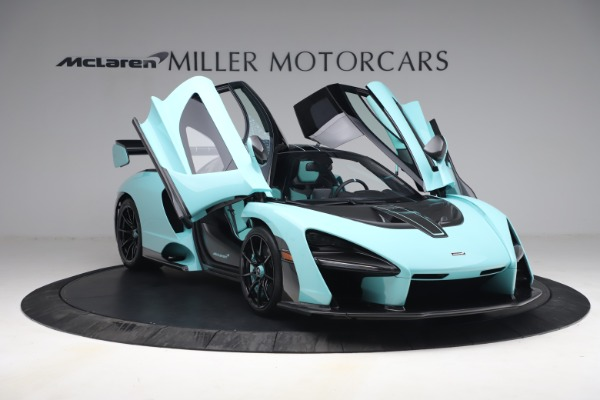 Used 2019 McLaren Senna for sale Sold at Pagani of Greenwich in Greenwich CT 06830 24