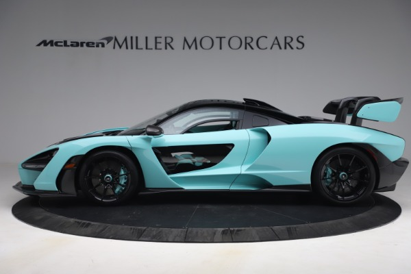 Used 2019 McLaren Senna for sale Sold at Pagani of Greenwich in Greenwich CT 06830 3