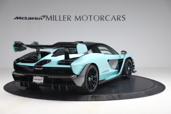 Used 2019 McLaren Senna for sale Sold at Pagani of Greenwich in Greenwich CT 06830 7