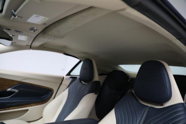 Used 2019 Aston Martin DB11 Volante for sale $209,900 at Pagani of Greenwich in Greenwich CT 06830 22