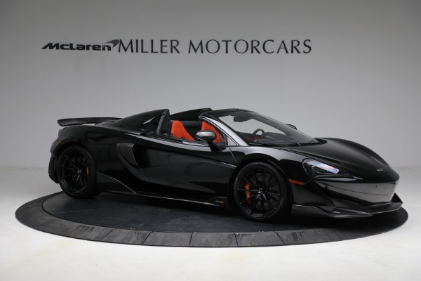 Used 2020 McLaren 600LT Spider for sale Call for price at Pagani of Greenwich in Greenwich CT 06830 10