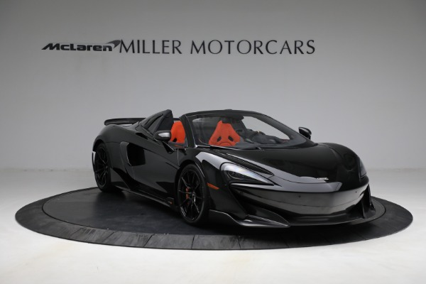 Used 2020 McLaren 600LT Spider for sale Call for price at Pagani of Greenwich in Greenwich CT 06830 11