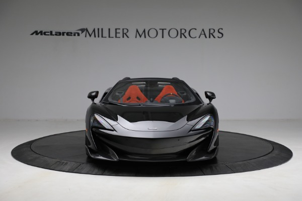 Used 2020 McLaren 600LT Spider for sale Call for price at Pagani of Greenwich in Greenwich CT 06830 12