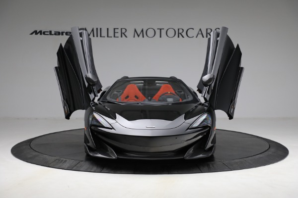 Used 2020 McLaren 600LT Spider for sale Call for price at Pagani of Greenwich in Greenwich CT 06830 13