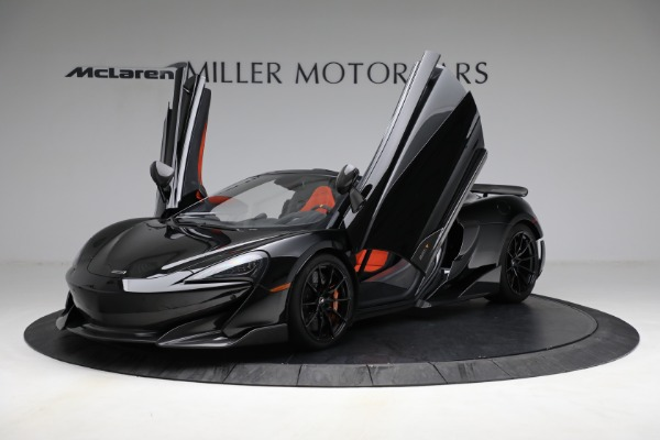 Used 2020 McLaren 600LT Spider for sale Call for price at Pagani of Greenwich in Greenwich CT 06830 14