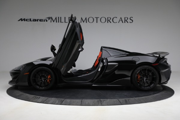 Used 2020 McLaren 600LT Spider for sale Call for price at Pagani of Greenwich in Greenwich CT 06830 15