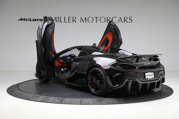 Used 2020 McLaren 600LT Spider for sale Call for price at Pagani of Greenwich in Greenwich CT 06830 16