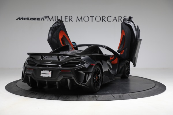 Used 2020 McLaren 600LT Spider for sale Call for price at Pagani of Greenwich in Greenwich CT 06830 17