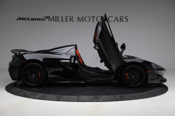 Used 2020 McLaren 600LT Spider for sale Call for price at Pagani of Greenwich in Greenwich CT 06830 18