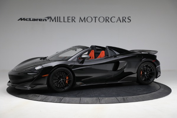 Used 2020 McLaren 600LT Spider for sale Call for price at Pagani of Greenwich in Greenwich CT 06830 2