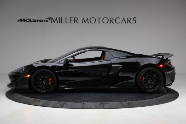 Used 2020 McLaren 600LT Spider for sale Call for price at Pagani of Greenwich in Greenwich CT 06830 21