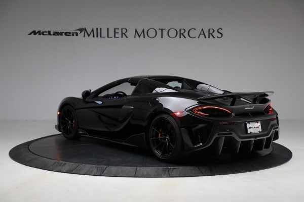 Used 2020 McLaren 600LT Spider for sale Call for price at Pagani of Greenwich in Greenwich CT 06830 22